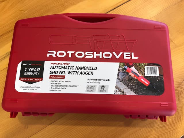 rotoshovel garden auger review