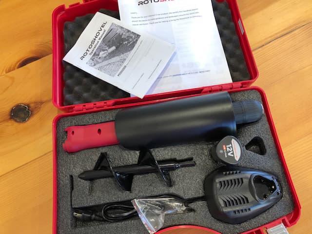 rotoshovel garden auger shovel review