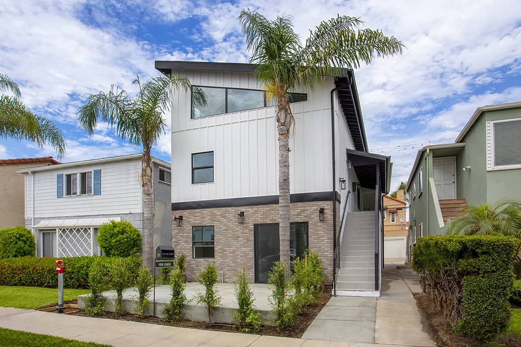 How This Long Beach Architect Completely Modernized a Multi-Family Building